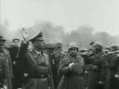 """Eine """"hidden hand"""" neben Himmler"""