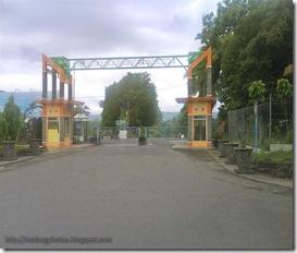 The Gate of Bendungan Sutami - Karangkates