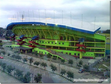 Malang Gajayana Stadium from MOG