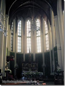 Inside Malang Cathedral 1