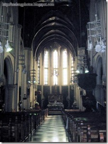 Inside Malang Cathedral 8