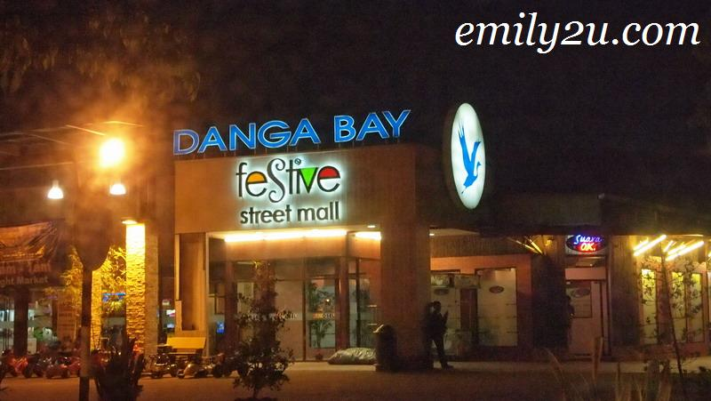 Danga Bay Festive Street Mall