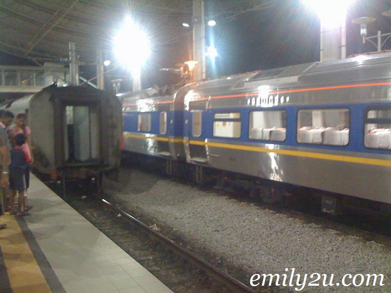 old and new KTM trains