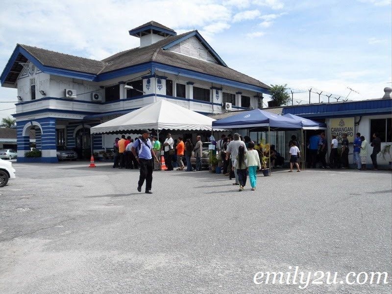 Cawangan Trafik Polis IPD Ipoh