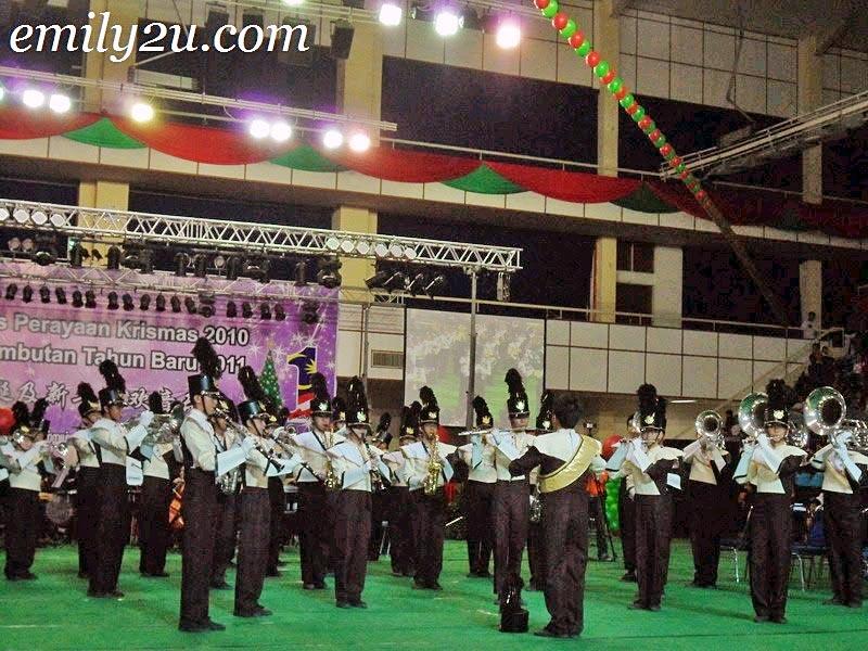 Sam Tet School brass band