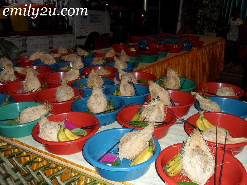 coconut offerings