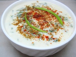 Spinach Raita (Cook-curry Nook)