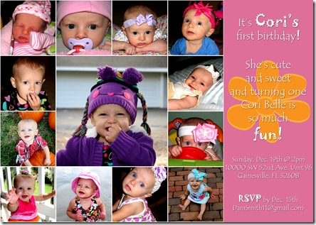 Cori Bday Invitation