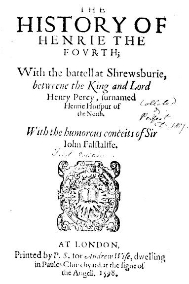 Henry V, Pt. I