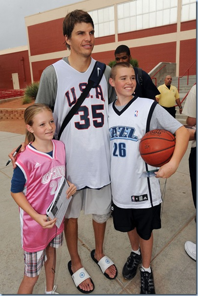 That's one tall kid, if Kyle is 6'7