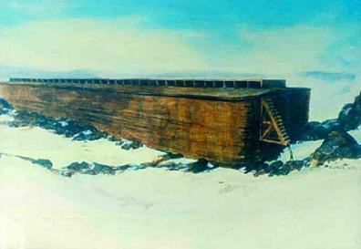 El arca de Noe en el Ararat