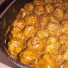Pork Balls in Curry Sauce