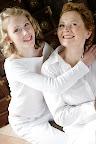 Sophia Arnö mit Mutter Kirsten