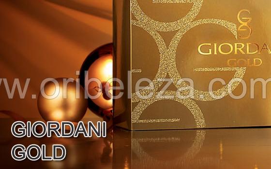 Conjunto Giordani Gold da Oriflame