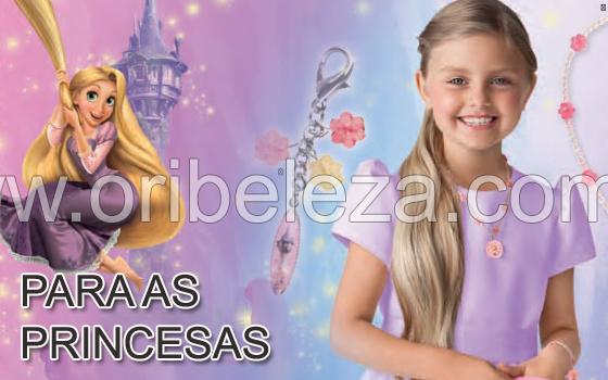 Estrela de Rapunzel no Catálogo Oriflame