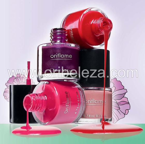 Vernizes e Batons Oriflame Pure Colour