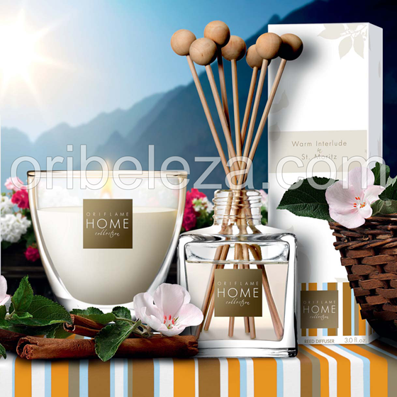 Oriflame Home Collection – Warm Interlude in St. Moritz