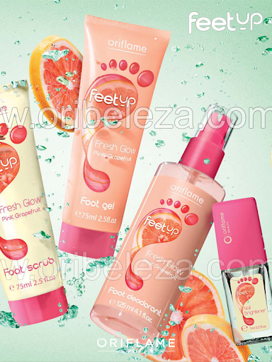 Feet Up Fresh Glow da Oriflame