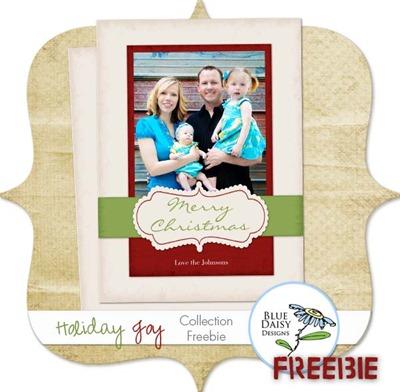 holiday joy freebie