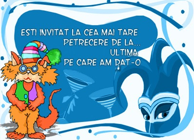 invitatie party