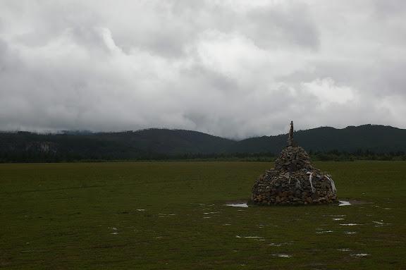 Le plateau (3200 m) au Sud de Shangri-la (Zhongdian), le 22 août 2010. Photo : J.-M. Gayman