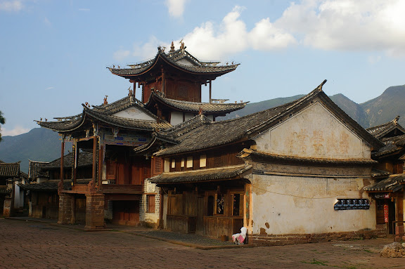 Le village de Shaxi (Yunnan), 7 août 2010. Photo : J.-M. Gayman