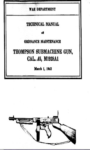 Thompson Submachine Gun Cal.45