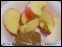 apple slices almond butter