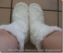 slipper feet