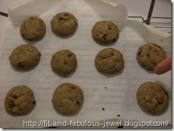Flax meal cookies