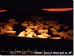 broiling tofu