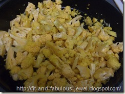 browned cauliflower