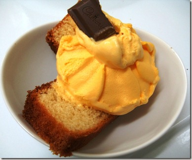 Chitra Pal Cake Slices with ice cream