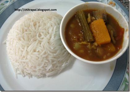 Chitra Pal Sambar Rice