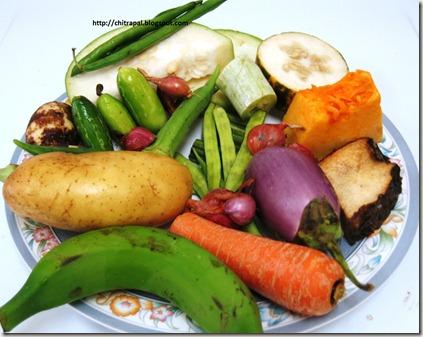 Chitra Pal Sambar Vegetables