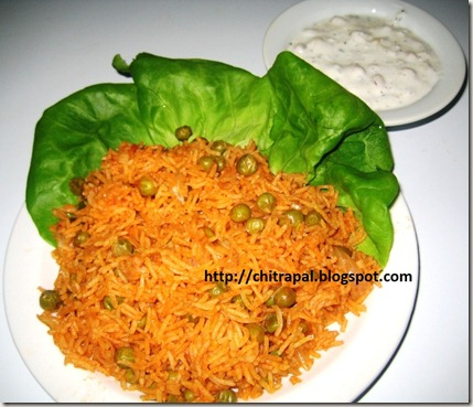 Chitra Pal Tangy Mexican Rice