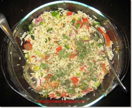 Chitra Pal Citrus Rice Salad