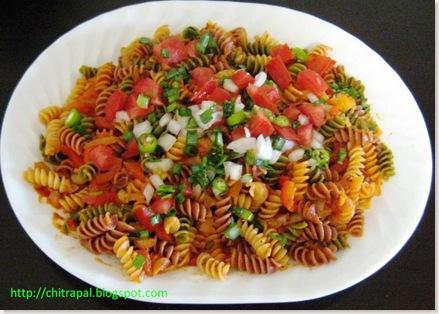Chitra Pal Veggie Spirals Pasta