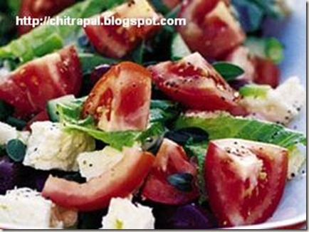 Chitra Pal Chilled Mediterranean Salad