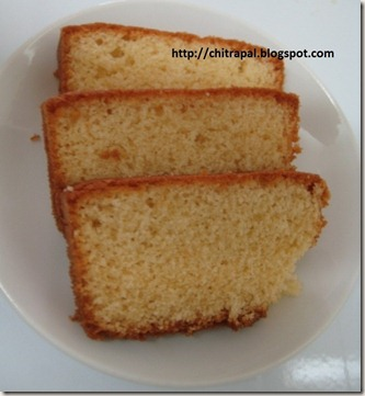 Chitra Pal Orange Cake Slice