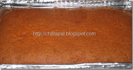Chitra Pal Orange Cake