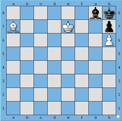 chiếu bí với tượng | cờ vua | chess