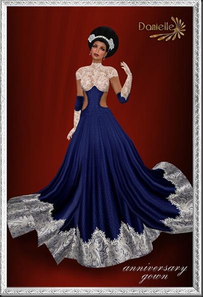DANIELLE Anniversary gown'