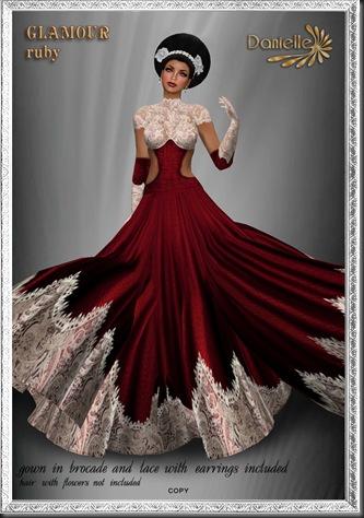 DANIELLE Glamour Ruby'