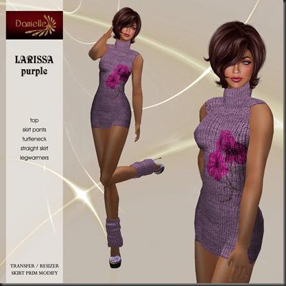 DANIELLE Larissa Purple'