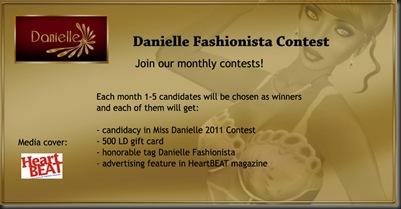 Danielle Fashionista ad'