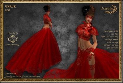 DANIELLE Grace Red'