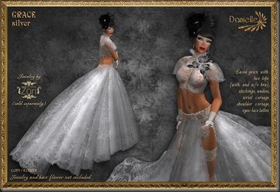 DANIELLE Grace Silver'
