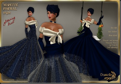DANIELLE Mirette Formal Night'