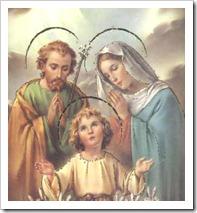 JESUS MARIA sagradafamilia